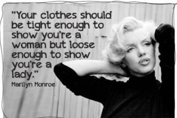 Marilyn Monroe, quote, woman, plussize woman, curves, curvy girl, quote, body positive, body positivity, wear your size, style has no size, thebiggerblog