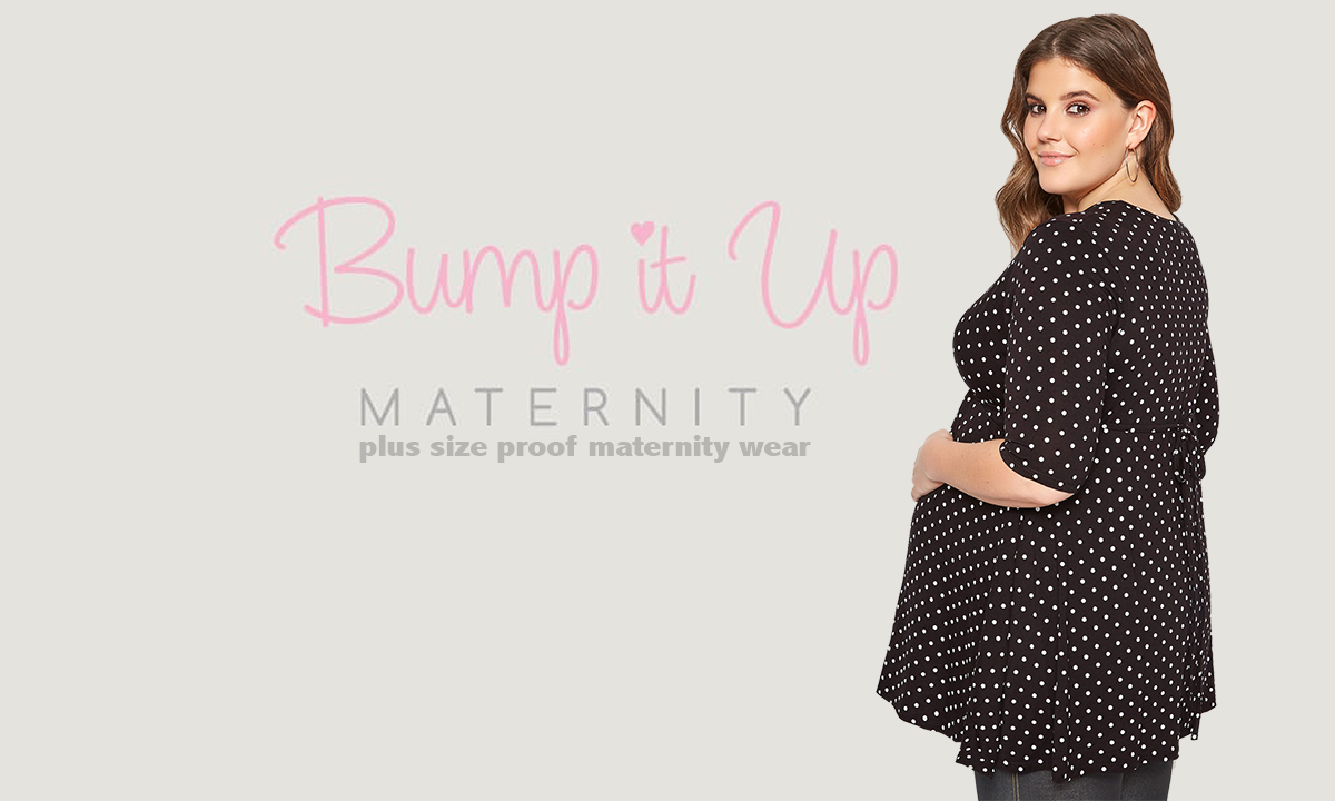 Yours Clothing, plus size zwangerschapskleding tot maat 60: Bump it Up!