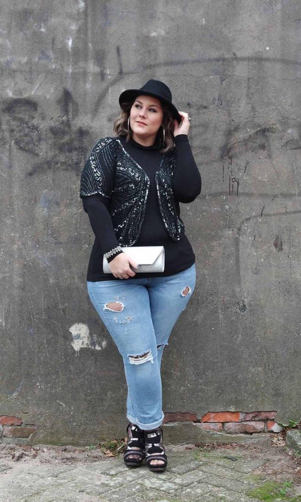 95a2d7c937 glitter   denim · plussize fashion blog
