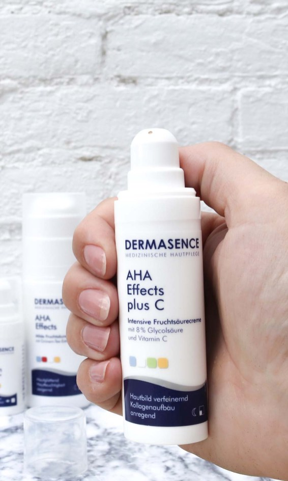 dermasence AHA effects mild fruit acid cream