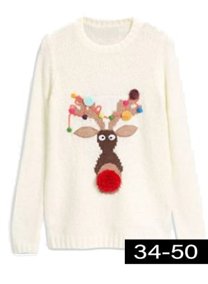 plus size Christmas jumpers