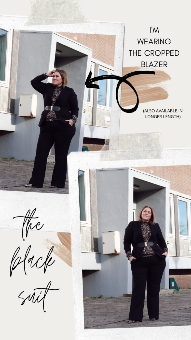 ms mode, thebiggerblog, polygiene, stof tegen zweetgeur, Nooit meer last van zweetgeur, middel tegen zweetgeur, 2020, mode blog, fashion blog, plussize fashion, plussize blog, josine, black suit, red suit, suit with flare pants, blazer with belt, trend, blazer met ceintuur, blazer met riem, pak met wijde pijpen, zakelijk pak grote maten, plussize, grote maten, mode, maat 48, maat 50, business wear, business outfit, zakelijke outfit, red suit, rood pak, rode flare