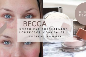 becca concealer, review, beauty blog, Douglas, thebiggerblog, josine, before and after, voor en na, wallen, wallen wegwerken, wallen camoufleren, make up tutorial, high lighter, under eye brightening corrector, setting powder, setting poeder