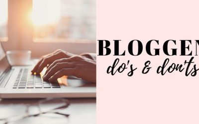 blog do's & don'ts, thebiggerblog, blog tips, hoe start je een blog, blog regels