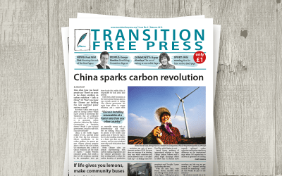 Transition Free Press 3 (Autumn 2013) — China sparks carbon revolution