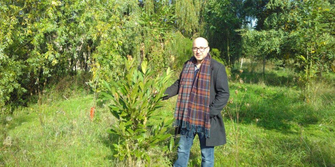 Steve in Steve's Wood