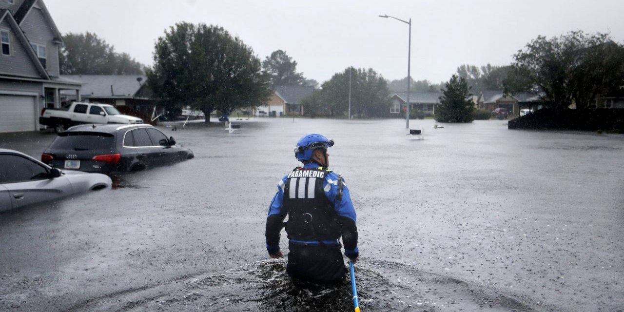 Flooding in North Carolina is a global problem that will hit the poor hardest