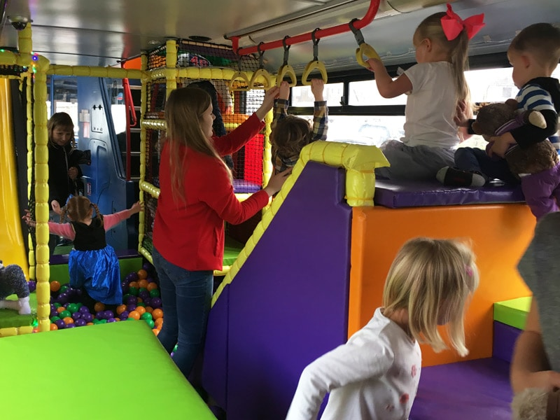 Party Packages Children S Party Bus Hire In Warwickshire And Birmingham