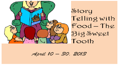 My first event – Story Telling with Food!
