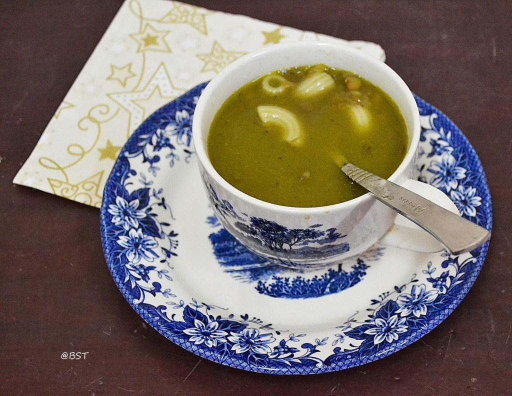 Rishta – Lebanese Lentil and Pasta Soup