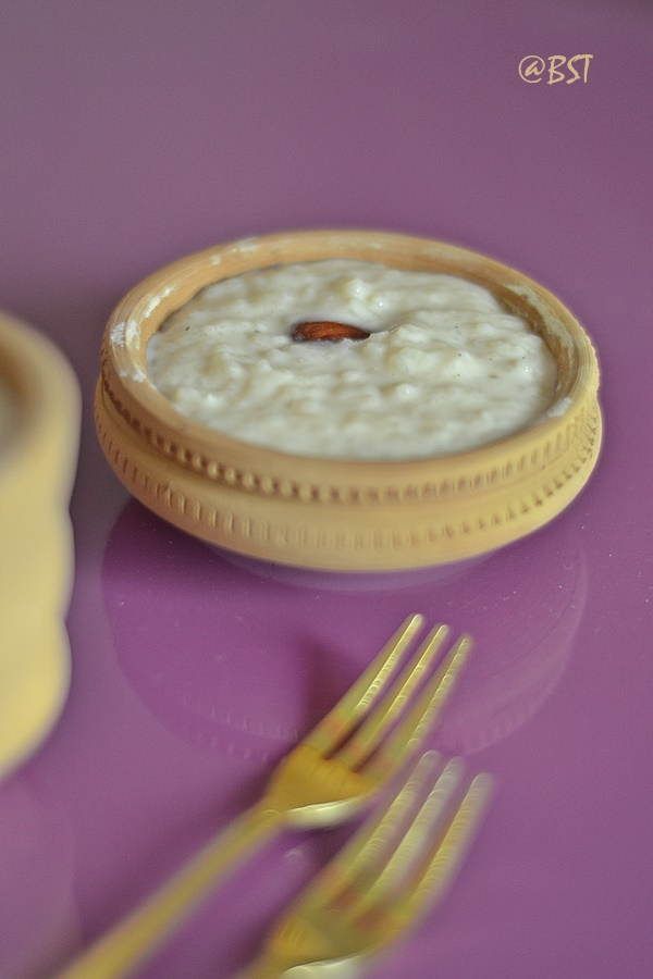 Kheer ~ Indian Rice Pudding
