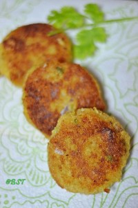 Cheesy Rice Cutlets