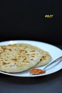 Aloo Paratha ~ Potato Stuffed Flatbread