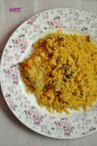 Majboos Dejaaj ~ Emirati Chicken Rice