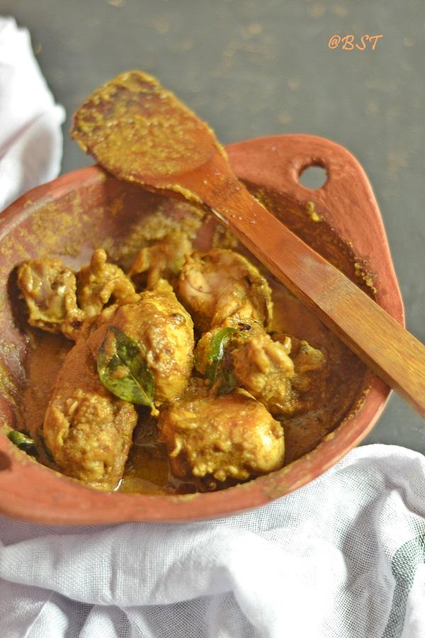 Jeeraka Kozhi/ Jeera Kozhi ~ Malabar Cumin Chicken