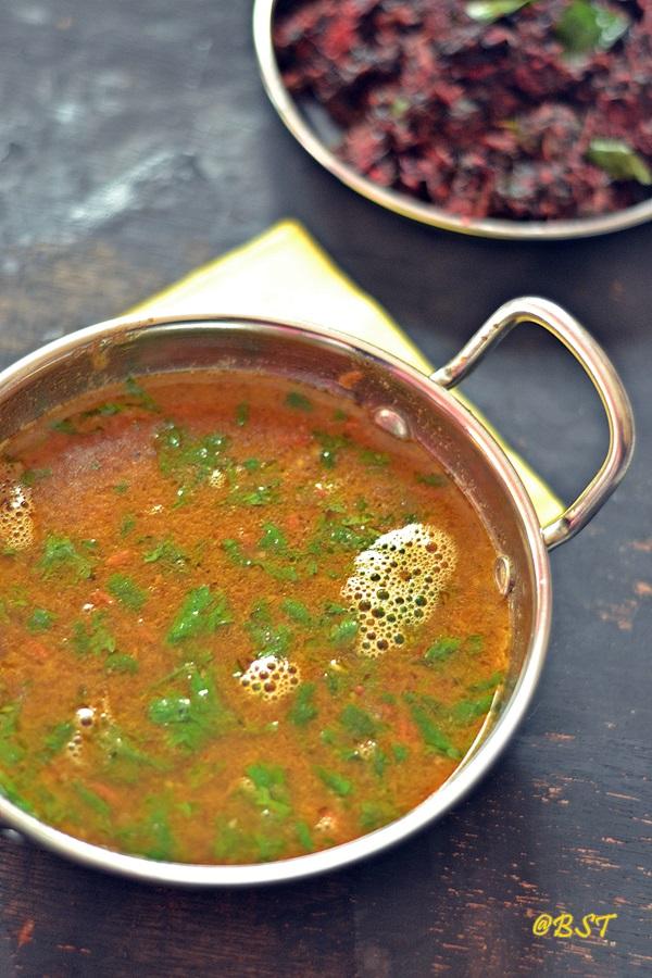 Kollu Rasam ~ Horsegram Soup