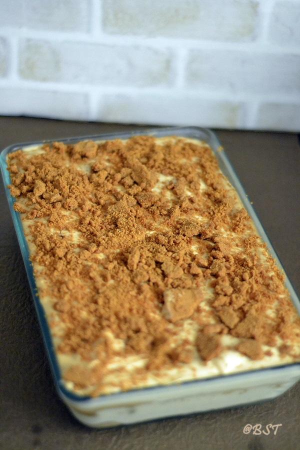 Biscoff Cheesecake Tiramisu