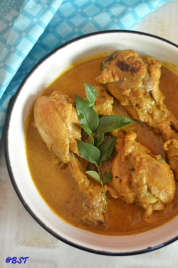 Kukul Mas Curry ~ Sri Lankan Chicken Curry