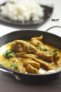 Caril De Galinha ~ Goan Chicken Curry