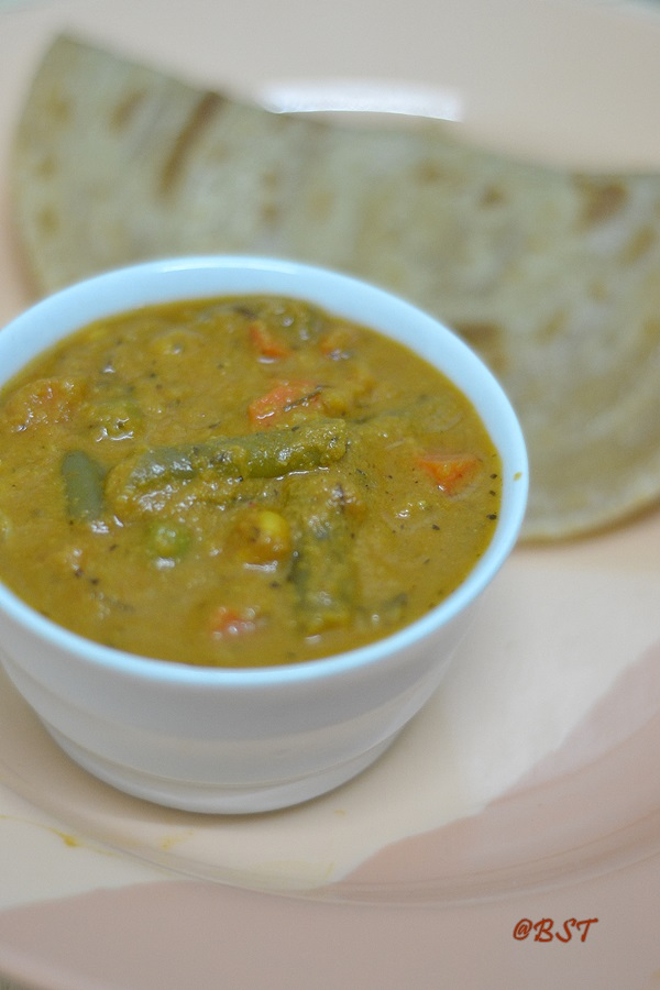 Vegetable Kurma | Cheat Version!
