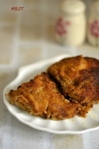 Marghi Na Farcha ~ Parsi Style Fried Chicken