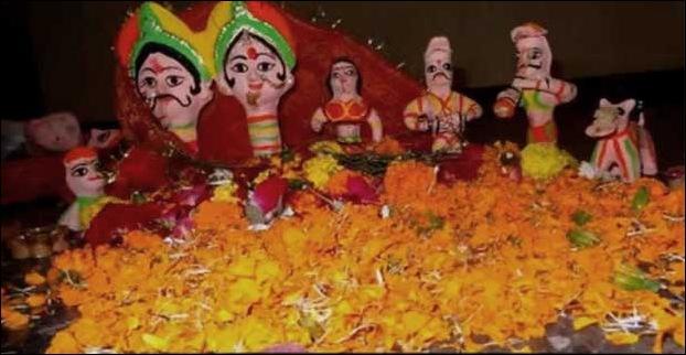 festival of Sama Chakewa starts in mithilanchal
