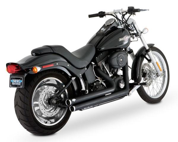 vance hines bigshots exhaust harley davidson softail fatboy fxst fxstc fxstb fxstd fxsts flstf flstn 47921 phoenix cycles