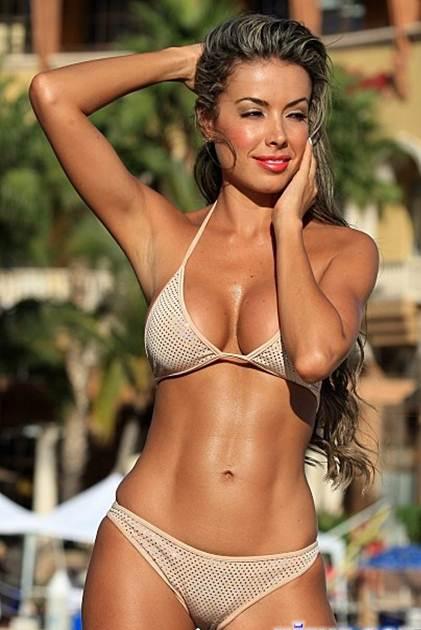 Sparkle String Bikini-Puch-Up