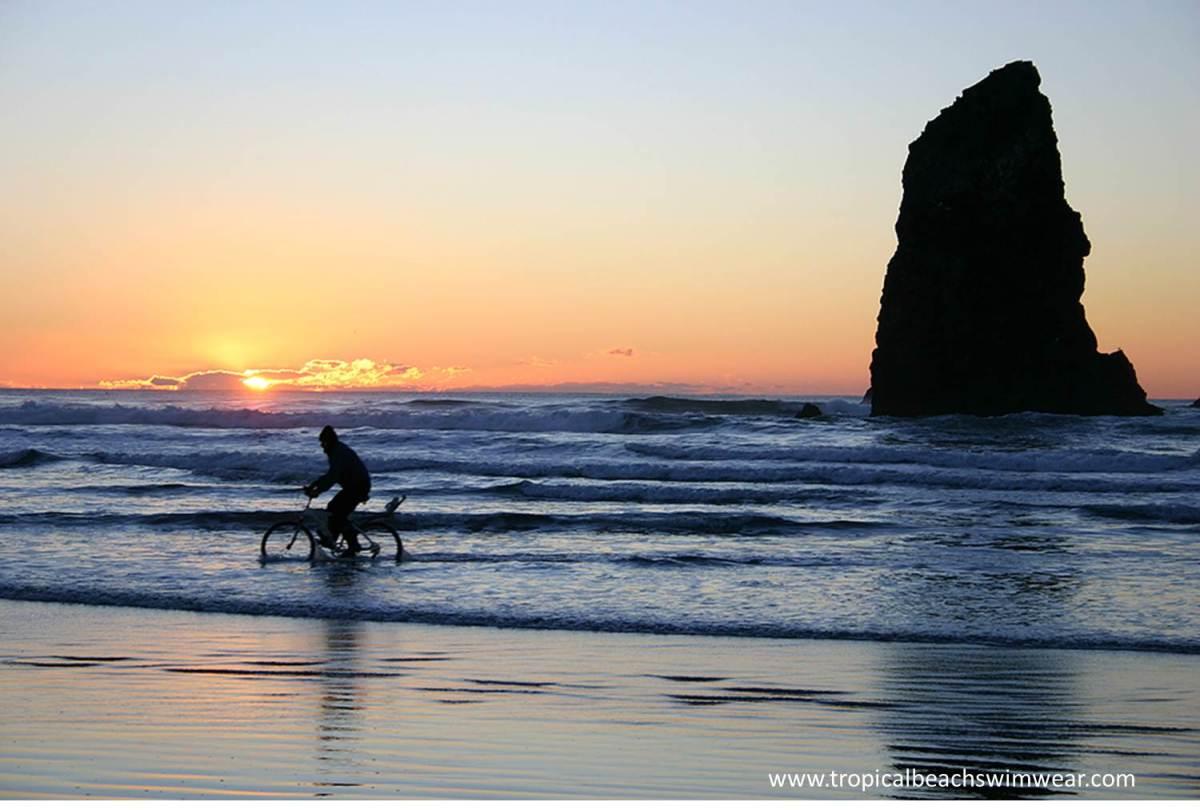 Taking A Ride On your Bikini Bicycle