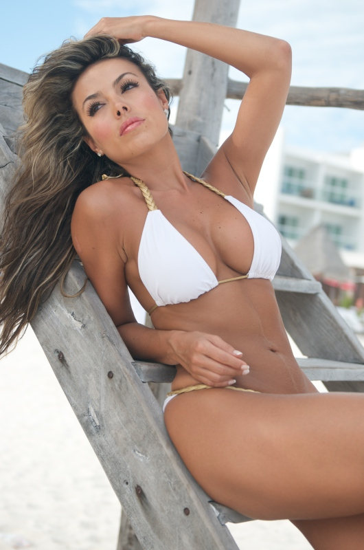 Bikini Of the day White Braided Bikini-3