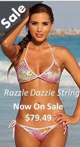 Sale-Razzle-Dazzle-String-Bikini-$79.49
