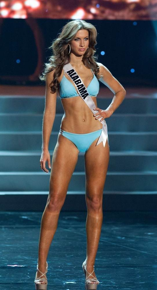 Katherine Webb Blue Bikini Miss Alabama USA-2