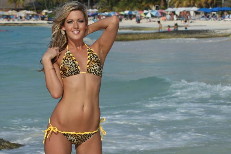 Bikinis For Women with Smaller Chests Animal Print