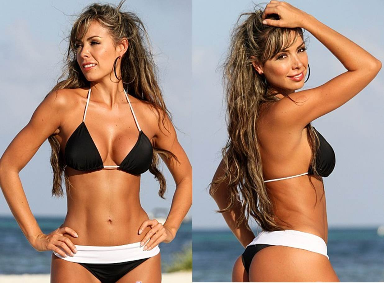 How to Buy your Girlfriend a Thong Bikini Banded Thong Bikini Black and White