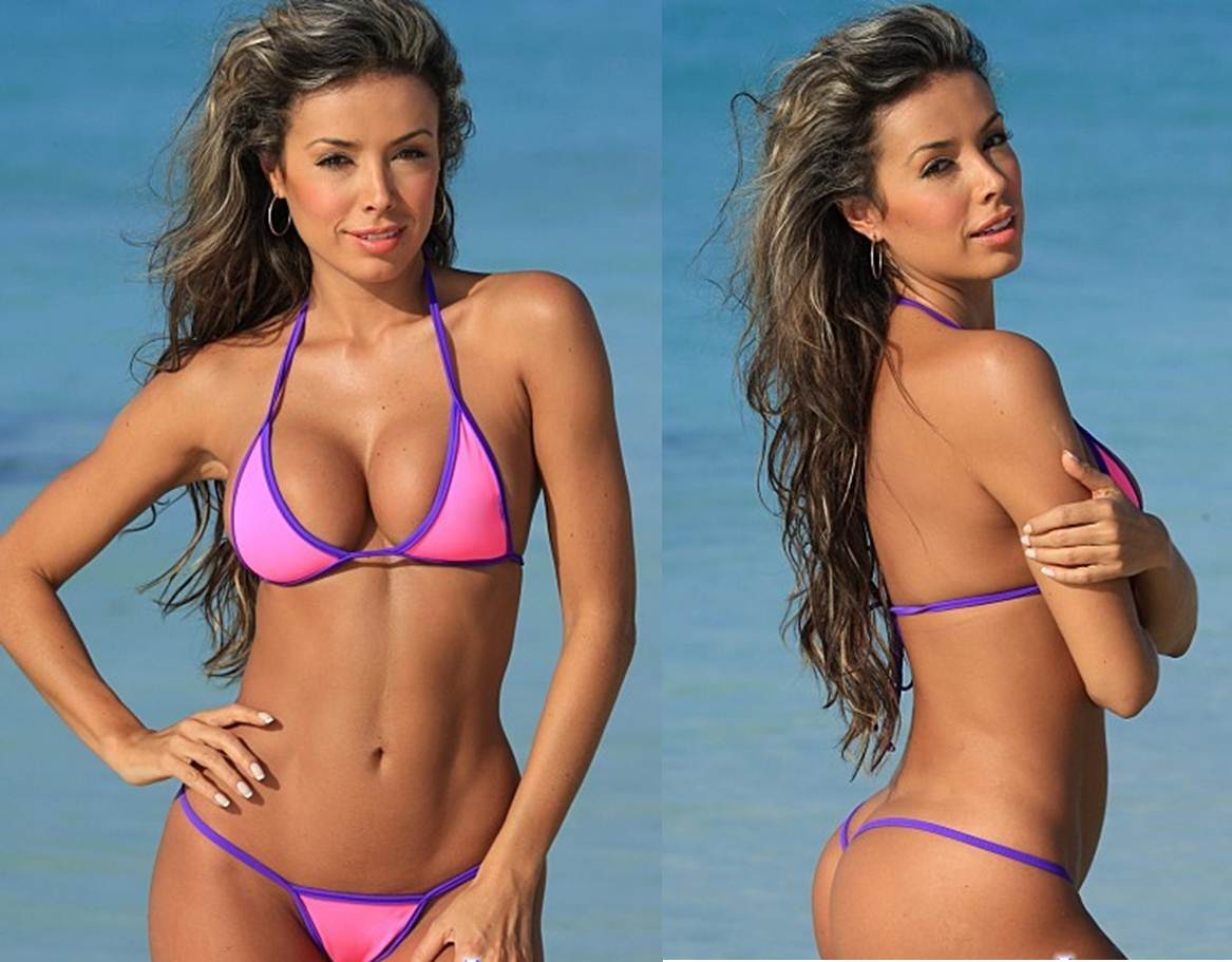 How to Buy your Girlfriend a Thong Bikini Tiny Pink G String