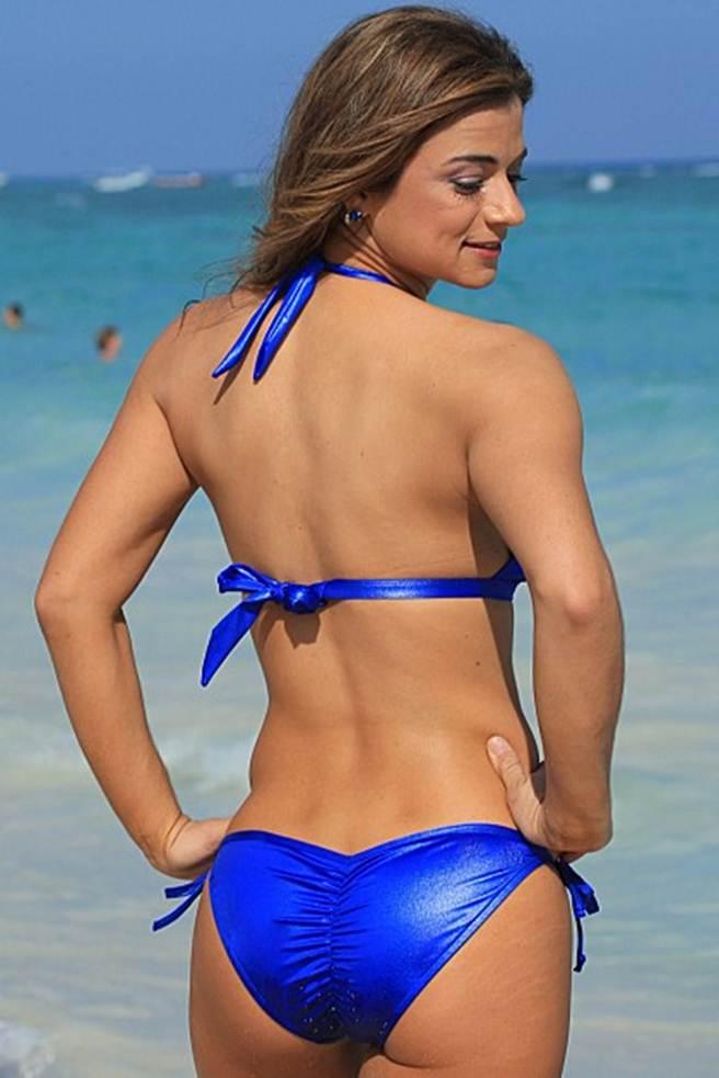 Scrunch Bikinis The perfect bikini for your butt Blue