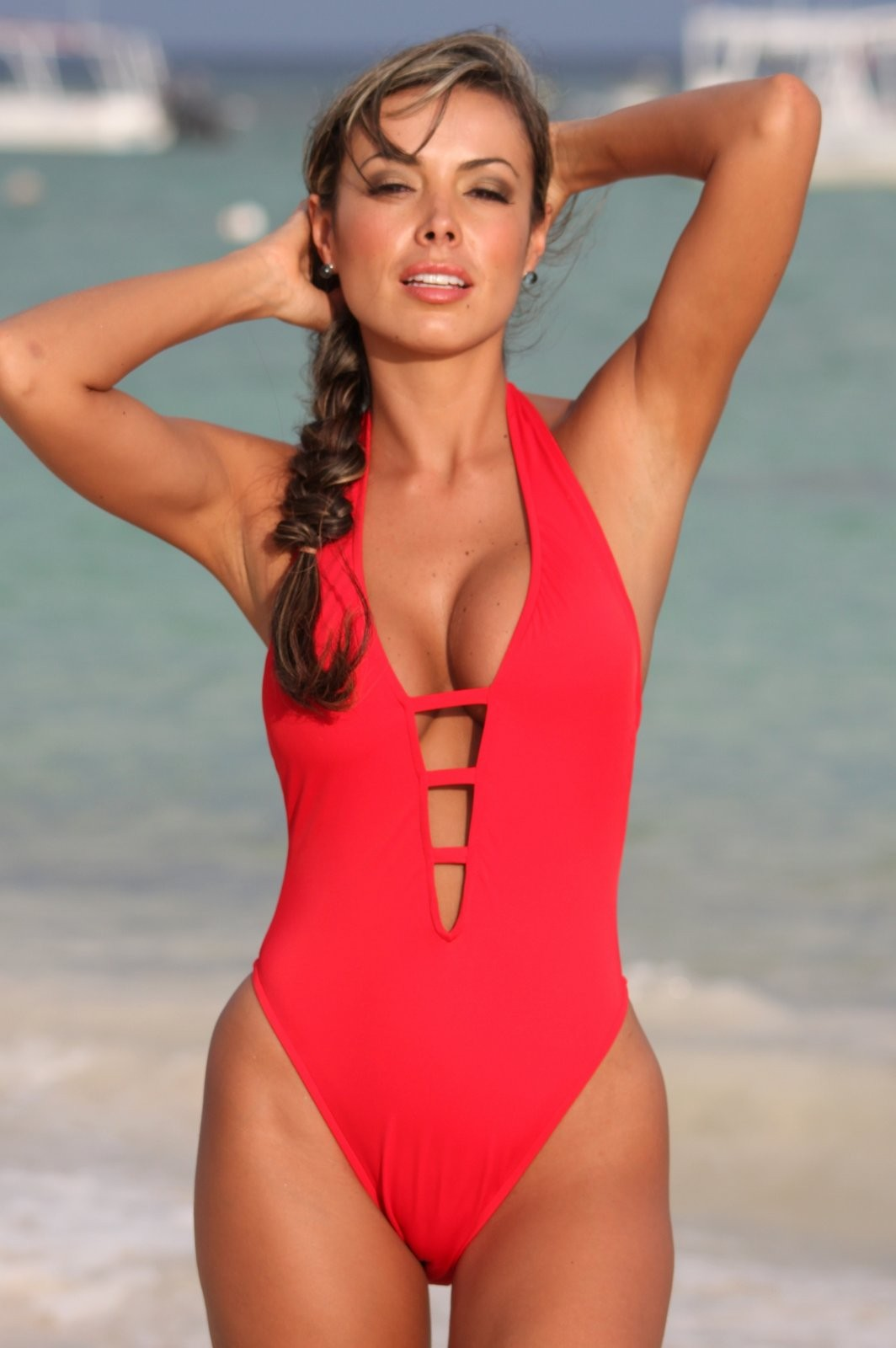 Sensuous-High-Cut-Onepiece-Swimsuit
