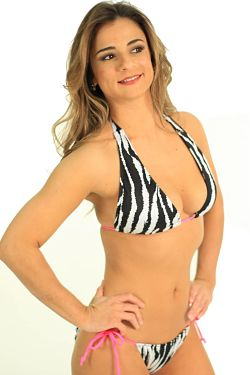 White-and-Black-Zebra-Print-String-Animal Bikini
