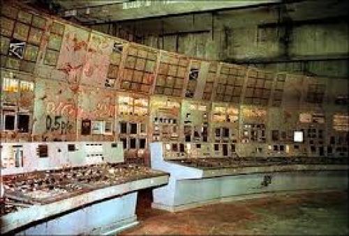 Inside Chernobyl Nuclear Power Plant
