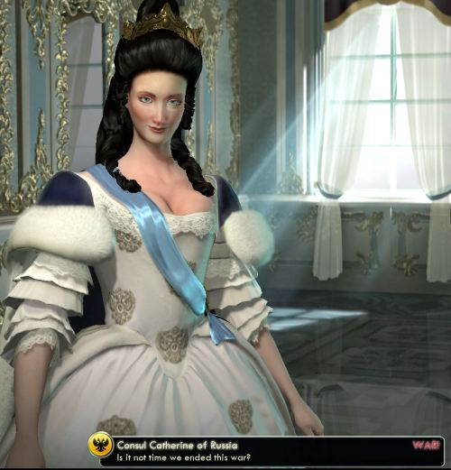 CIV5 Catherine, Isn't it time to end this war...