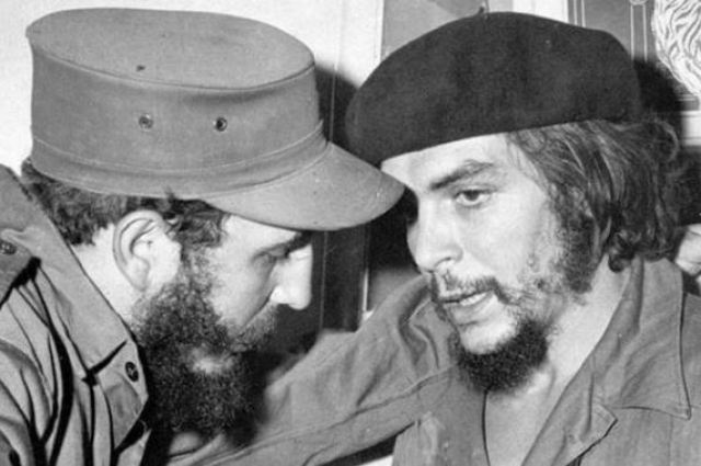 Fidel Castro and Che Guevara by NYTimes photo