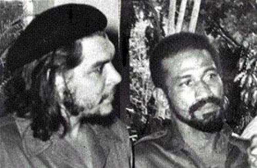 Juan Almeida and Che Guevarra