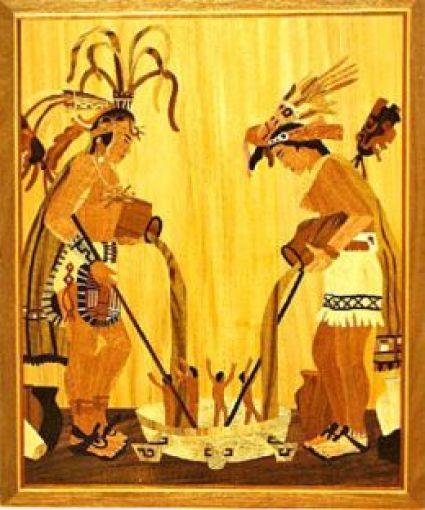 Mayan Corn Men
