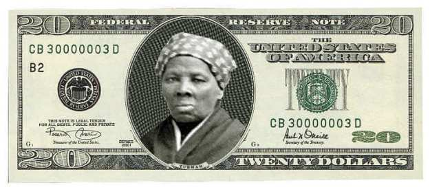 harriet_tubman twenty dollar bill
