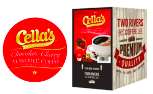 Cella's Chocolate Covered Cherries Coffee K-Cups