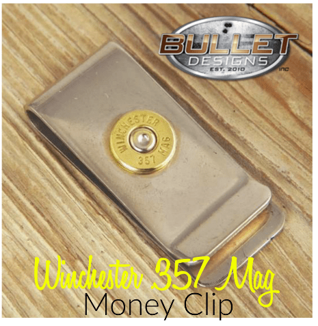 Bullet Designs Money Clip