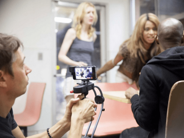Sean Baker films a memorable scene between Sin-Dee and Dinah.