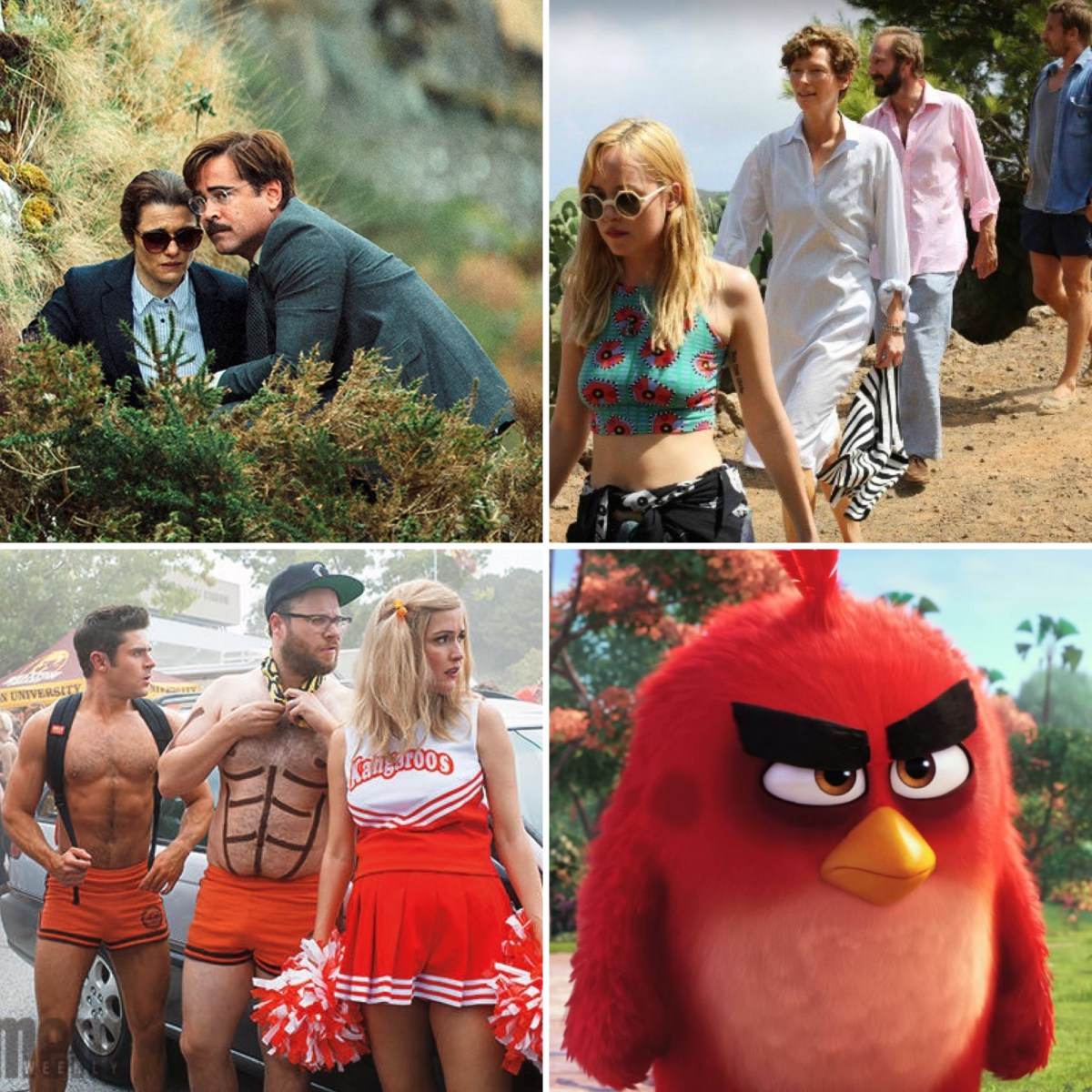 The Binge Movie Podcast: The Lobster | A Bigger Splash | Neighbors 2: Sorority Rising | The Angry Birds Movie