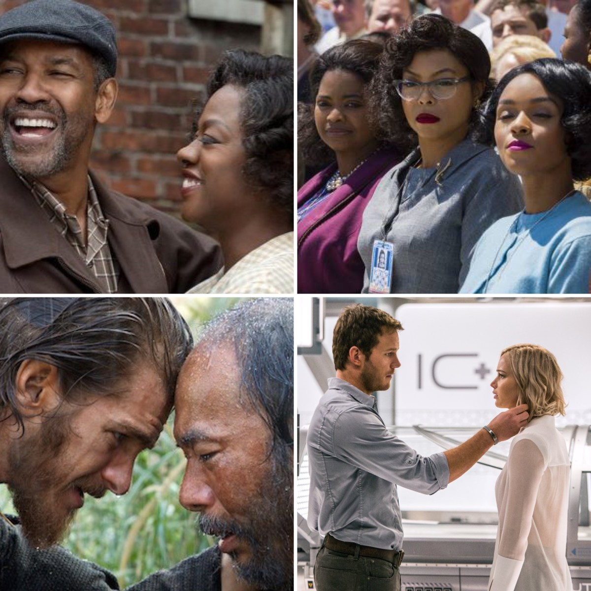 The Binge Movie Podcast: Fences | Hidden Figures | Silence | Passengers