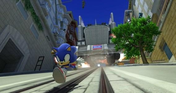Run like Sonic
